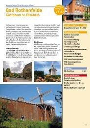 Bad Rothenfelde 2019 Katalogseite