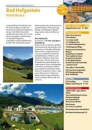 Hofgastein 2019 Katalogseite