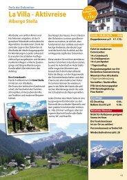 La Villa Sommer 2019 Katalogseite