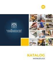 Velleman - Katalog Werkzeuge - DE