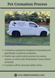 Pet Cremations Process Westchester