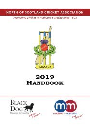 NoSCA Handbook - 2019 Draft 1