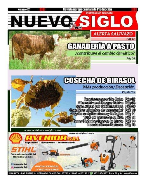 Revista Agropecuaria Nuevo Siglo 177