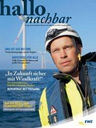 Hallo Nachbar als PDF anzeigen - EWE AG