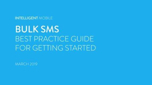 IM Mobile Messenger Best Practice Guide