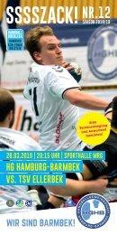 SSSSZACK! HGHB vs. TSV Ellerbek