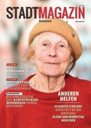 Stadt-Magazin, Ausgabe Herdern (April 2019)