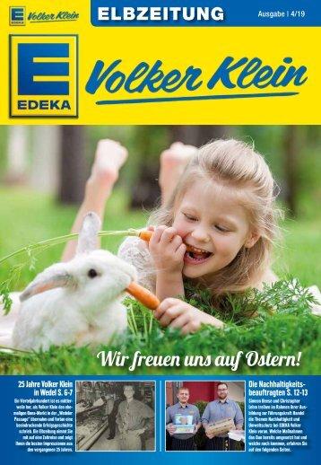 Wir freuen uns auf Ostern!