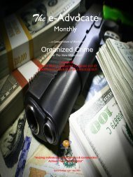 Organized Crime In The New Millennium