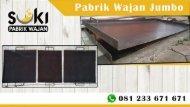 +62 812-3367-1671, Pabrik Wajan Datar Suki Roti John