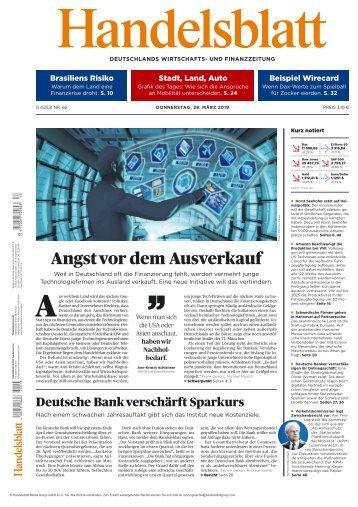 Handelsblatt 28.03.2019