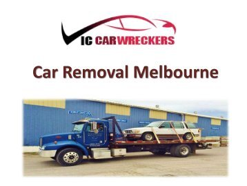 Car Removal Melbourne(vic)