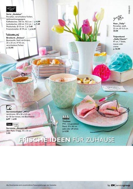 """livingplus """"Frische Ideen für Zuhause""""   P 3908 living Fruehjahr WMF"""