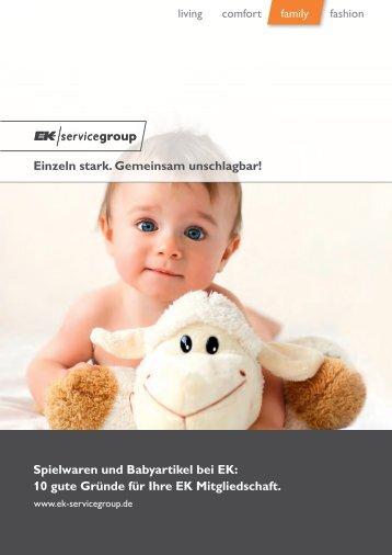 Spielwaren und Babyartikel bei EK