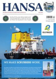 Hansa – International Maritime Journal, April 2019