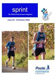 SPRINT Issue 65 - Xmas 2019