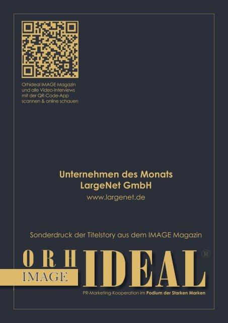 Largenet Team IDEALE ARBEITGEBER