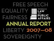 Entire Report (PDF) - Program in Law and Public Affairs - Princeton ...