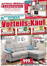 Vorteils-Kauf bei prima-Möbel in 07356 Bad Lobenstein!