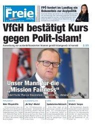 VfGH bestätigt Kurs gegen Polit-Islam