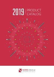 Noris Medical Dental Implants Product Catalog 2019