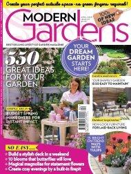 Modern Gardens April