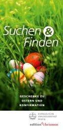 Werbeflyer Ostern und Konfirmation