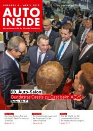AUTOINSIDE Ausgabe 4 – April 2019