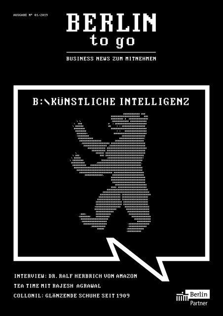 Berlin To Go Ausgabe 1 2019