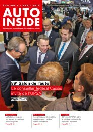 AUTOINSIDE Édition 4 – Avril 2019