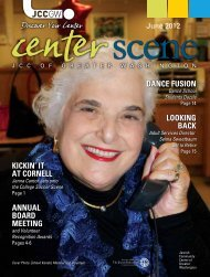June 2012 - Jewish Community Center of Greater Washington