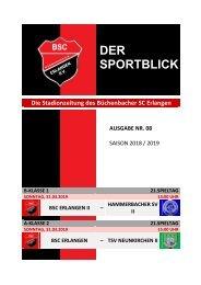 Der Sportblick (Ausgabe Nr. 08 | 18/19)