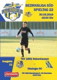 20190330 Fuggermärktler TSV 1862 Babenhausen – Kissinger SC