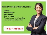 Dial Email Customer Support Number 1877-503-0107