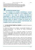 Les recommandations de la seconde  journée nationale des maladies rares au Maroc - AMRM - Page 7