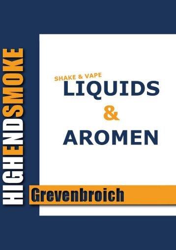 Liquid-Aromen-Liste