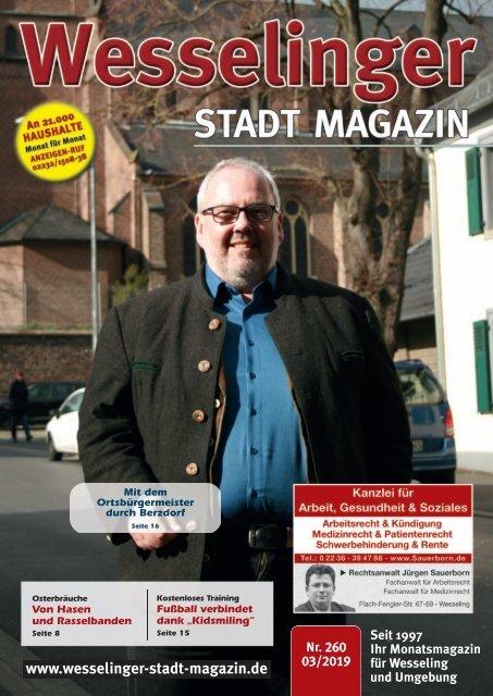 Wesselinger Stadt Magazin März 2019