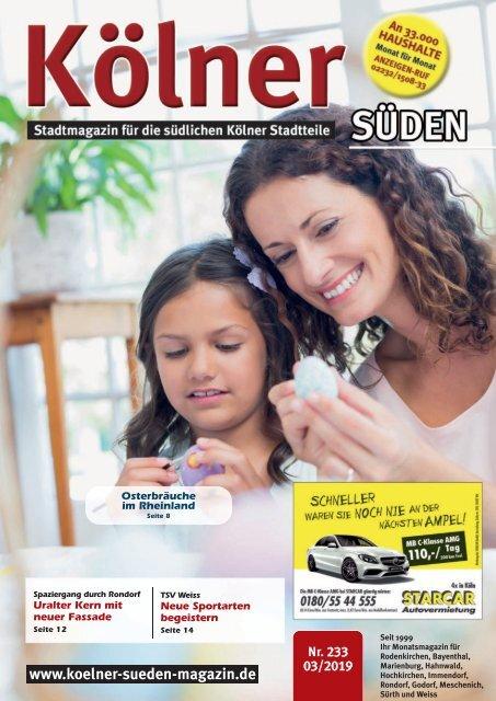 Kölner Süden Magazin März 2019