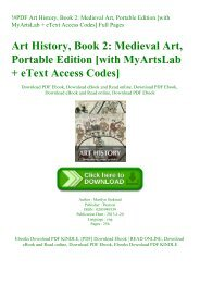 !#PDF Art History  Book 2 Medieval Art  Portable Edition [with MyArtsLab + eText Access Codes] Full Pages