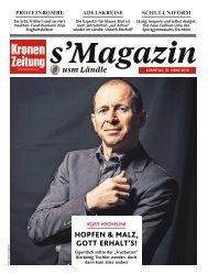 s'Magazin usm Ländle 31. März 2019
