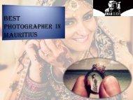 Best Photographer in Mauritius