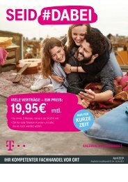 Telekom Werberunde April