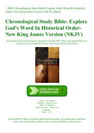 PDF] Download King James Study Bible | Anonymous