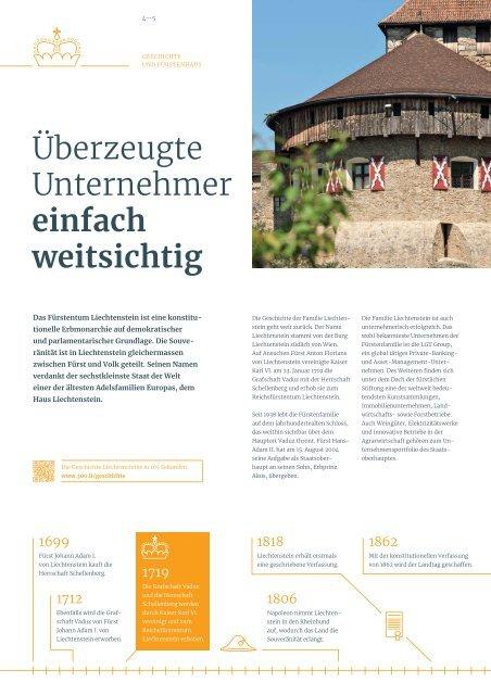 Wirtschaftsstandort Liechtenstein