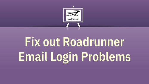Roadrunner Email Login | Webmail RR.com Login