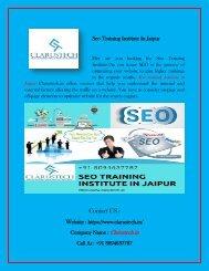 Seo Training Institute In Jaipur
