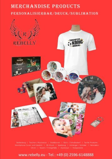 Rebelly Merchandise Katalog 2019