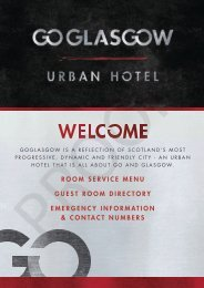 41917 GO GLASGOW ROOM DIRECTORY NEW PROOF