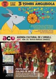Agenda Cultural ABRIL 19