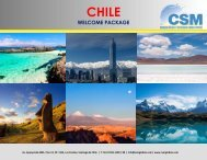Welcome CHILE- 2019